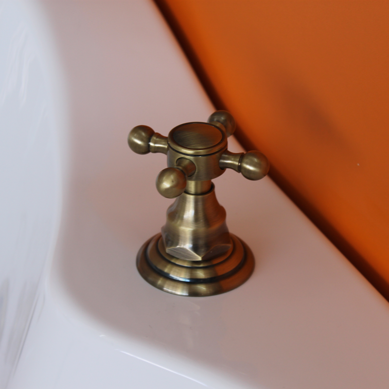 Фото 8001: Смеситель Радомир из пяти элементов Лонг (bronze)