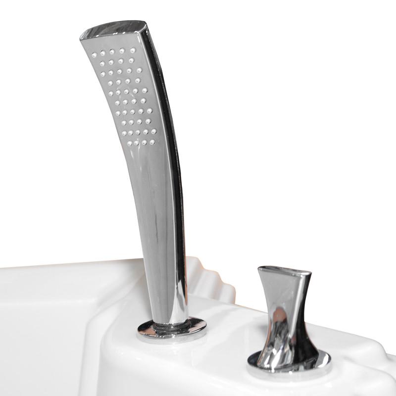Фото 285: Смеситель Радомир для ванны из пяти элементов Фламинго Chrome