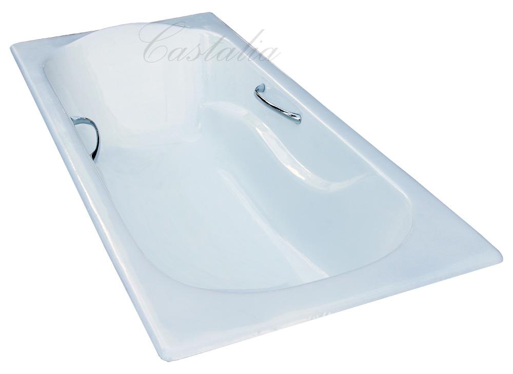 Фото 5599: Ванна чугунная Castalia Venera 170х80 с ручками