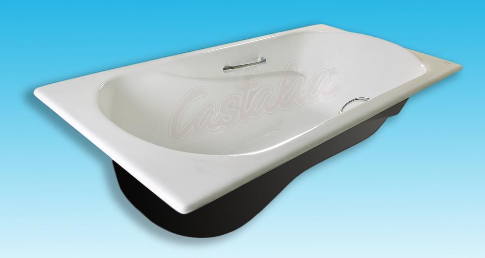Фото 7174: Ванна чугунная Castalia Venera 170х80 с ручками