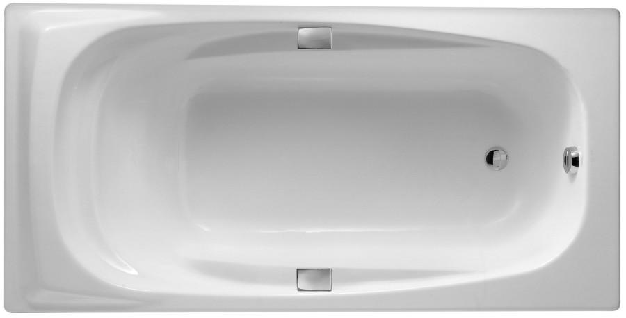 Фото 2543: Ванна чугунная Jacob Delafon SUPER REPOS 180х90 с ручками