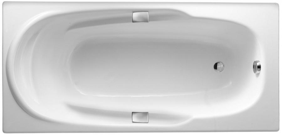 Фото 1677: Ванна чугунная Jacob Delafon ADAGIO 170х80 с ручками