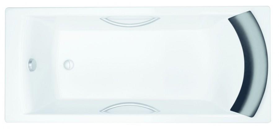 Фото 3257: Ванна чугунная Jacob Delafon BIOVE 170х75 с ручками
