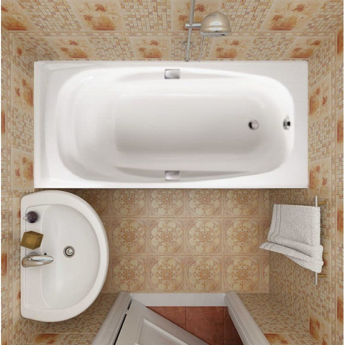 Фото 669: Ванна чугунная Jacob Delafon REPOS 170x80 без ручек