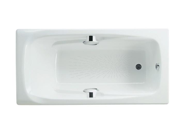 Фото 4019: Ванна чугунная Roca Ming 170х85 прямоугольная с ручками