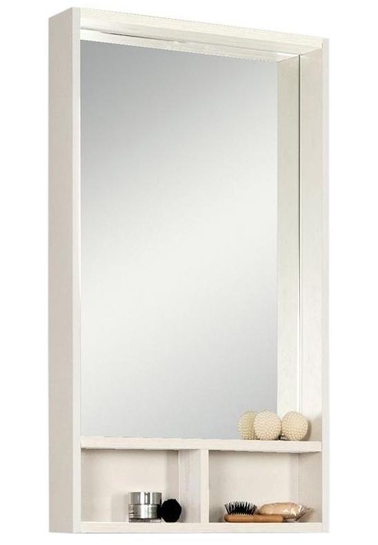 Фото 1711: Зеркало Акватон ЙОРК 55 белый/ясень фабрик 1A173202YOAV0