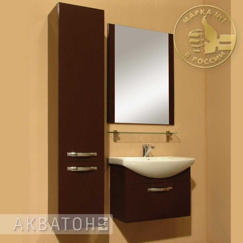 Фото 899: Зеркало Акватон АРИЯ 65 тёмно-коричневое 1A133702AA430
