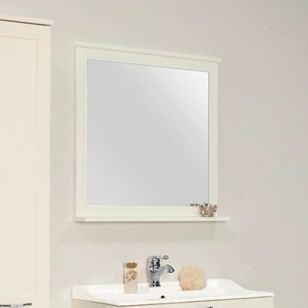 Фото 2301: Зеркало Акватон ЛЕОН 80 дуб белый 1A186402LBPS0