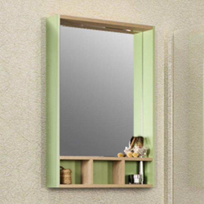 Фото 2196: Зеркало Акватон ЙОРК 60 салатовый/дуб сонома 1A170102YOAJ0