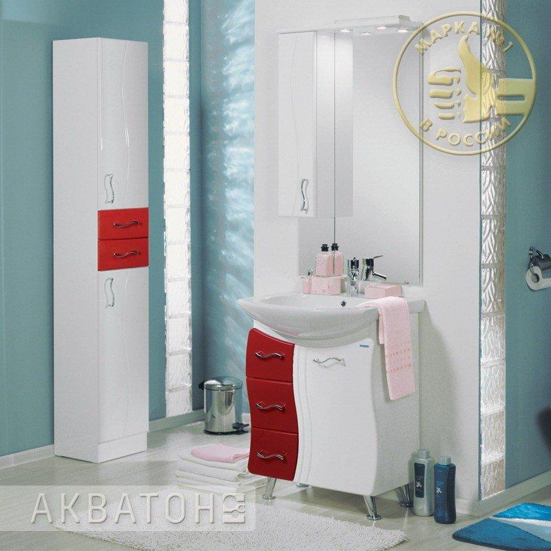Фото 5368: Зеркало шкаф Акватон ДИОНИС 67 М левое 1A008002DS01L