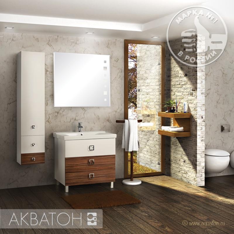 Фото 5228: Зеркало Акватон СТАМБУЛ 85 1A127502ST010