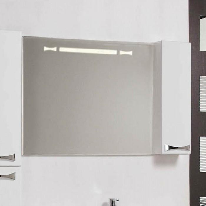 Фото 9694: Зеркало шкаф Акватон ДИОР 100 белый 1A167902DR01R