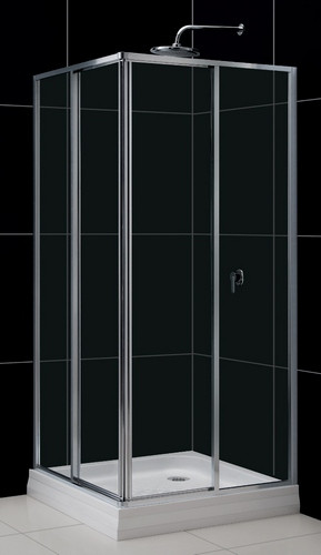Фото 6602: Душевой уголок квадратный RGW CL-32 90х90х185 прозрачное 04093299-11