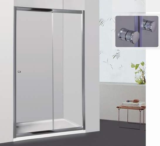 Фото 9003: Душевая дверь раздвижная RGW CL-12 105х185 шиншилла 040912105-51