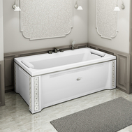 Фото 5404: Акриловая ванна без системы гидромассажа Радомир (Radomir) Хельга