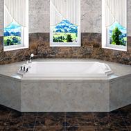 Фото 9859: Акриловая ванна без системы гидромассажа Радомир (Fra Grande) Эстелона