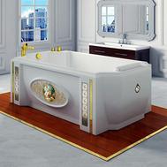 Фото 3753: Акриловая ванна без системы гидромассажа Радомир (Fra Grande) Эстелона с панелью