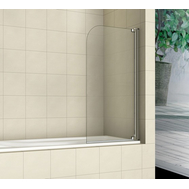 Фото 3399: Шторка на ванну распашная маятниковая RGW SC-01 80х150 прозрачное 03110108-11