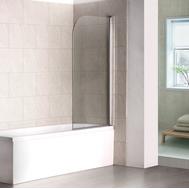 Фото 6107: Шторка на ванну распашная маятниковая RGW SC-05 80х150 прозрачное 03110508-11