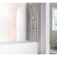 Фото 29: Шторка на ванну распашная маятниковая RGW SC-07 100х150 прозрачное 03110710-11