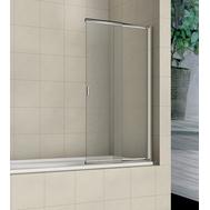Фото 2076: Шторка на ванну распашная маятниковая RGW SC-40 (60-100)х150 прозрачное 03114010-11