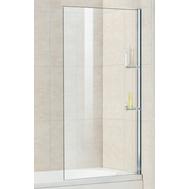 Фото 2396: Шторка на ванну стационарная с полочками RGW SC-53 80х150 прозрачное (8 мм) 03115308-11