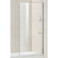 Фото 7924: Шторка на ванну стационарная с полочками RGW SC-54 80х150 прозрачное (8 мм) 03115408-11