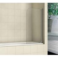 Фото 9305: Шторка на ванну распашная маятниковая RGW SC-01 100х150 прозрачное 8 мм, 03110110-11