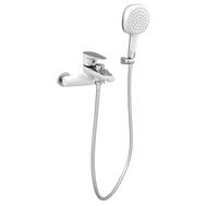 Фото 7684: Смеситель для ванны одноручковый Bennberg 130616  WHITE + CHROME