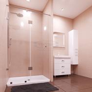Фото 9360: Душевая дверь распашная Титан Муреа-23 МТ- 1160.23.0 110X200 прозрачное