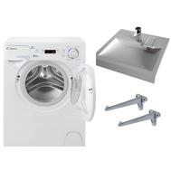 Фото 4254: Комплект: мини стиральная машина под раковину Candy Aqua 104D2-07 с раковиной Solo Jazz mini soft