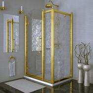 Фото 8280: Душевое ограждение  FRA GRANDE 120 Лоренцо Великолепный Gold