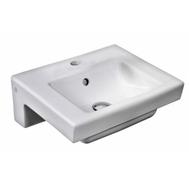 Фото 4982: Раковина Gustavsberg Artic 4450 GB1144500101 для установки на болтах или кронштейнах (45*37 см)