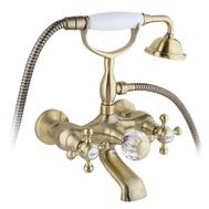 Фото 3523: Смеситель для ванны и душа Timo Nelson (1914 Y-CR) Antique