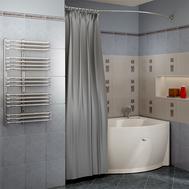 Фото 2410: Сантехника///Аксессуары для ванных///Карниз для ванн RADOMIR Карниз Chrome для шторки на ванну Миранда