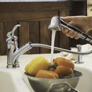 Фото 556: Смеситель для кухни с выдвижным изливом Jacob Delafon Fairfax