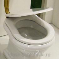 Фото 7652: Сиденье для унитаза с микролифтом Kerasan Retro 108601