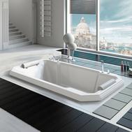 Фото 776: Акриловая ванна без системы гидромассажа Радомир (Fra Grande) Фонтенбло встраиваемая