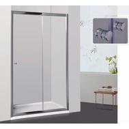 Фото 6934: Душевая дверь раздвижная RGW CL-12 110х185 шиншилла 04091211-51