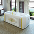 Фото 2793: Акриловая ванна без системы гидромассажа Радомир (Fra Grande) Фернандо с панелью