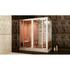 Фото 5153: Финская сауна в квартиру с душевой кабиной FRANK F918 L 180 х 130