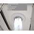 Фото 5826: Финская сауна в квартиру с душевой кабиной FRANK F915L 150х150
