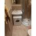 Фото 2079: Комплект: мини стиральная машина под раковину Candy 114D2 с раковиной Пилот 50/60