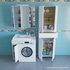 Фото 6665: Раковина над стиральной машиной Санта Юпитер 80х50 см левая