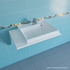Фото 2428: Раковина над стиральной машиной Санта Юпитер 80х50 см правая