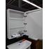 Фото 2965: Зеркальный шкаф Акватон АМЕРИНА 60 Белый правый 1A135302AM01R