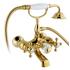 Фото 7910: Смеситель для ванны и душа Timo Nelson (1914 Y-CR) Gold