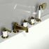 Фото 8202: Смеситель Радомир для ванной Империал Bronze