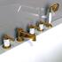Фото 6006: Смеситель Радомир для ванной Империал Gold