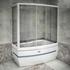 Фото 9875: Стеклянная шторка для ванн Радомир Аризона